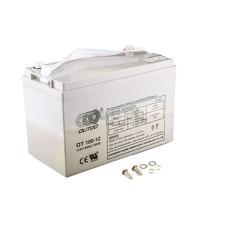 Акумулятор (АКБ) 12V 100А AGM (330x172x223, сірий) OUTDO арт.A-1379