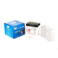 Акумулятор (АКБ) 12V 30А заливний (187x130x170, білий, mod: Y60-N 30L-B) (+ електроліт) OUTDO арт.A-1347