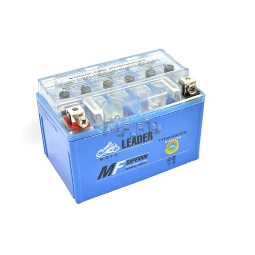 Акумулятор (АКБ) 12V 4А гелевий (114x71x88, синій) (2019 г.) LDR арт.A-497