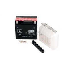 Аккумулятор (АКБ) 12V 4А заливной (электролит в комплекте) (TM) EVO арт.A-1862