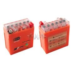 Аккумулятор (АКБ) 12V 5А гелевый (высокий) (119x60x128, оранжевый, mod:YTX5AL-BS) OUTDO арт.A-1154