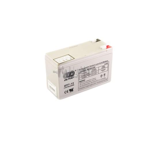 Аккумулятор (АКБ) 12V 7А AGM (151x65x94, серый) OUTDO арт.A-1374