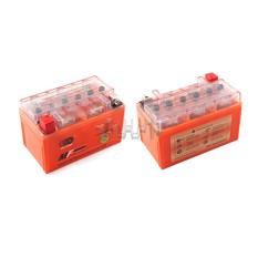 Аккумулятор (АКБ) 12V 7А гелевый (150x85x95, оранжевый, mod:UTX7A-BS) OUTDO арт.A-1150