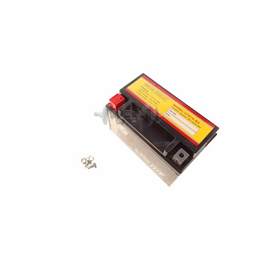 Акумулятор (АКБ) 12V 7А гелевий (150x85x97, чорний, mod: YTX7A) (Japan Tech) ZV арт.A-1923