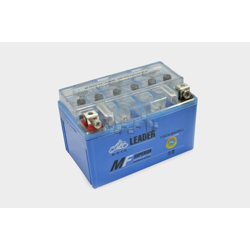 Акумулятор (АКБ) 12V 7А гелевий (150x87x93, синій) (2019 г.) LDR арт.A-477