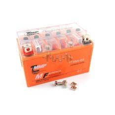 Аккумулятор (АКБ) 12V 8А гелевый (YTX8A-BS) (оранжевый) (размер 7А) EVO арт.A-188