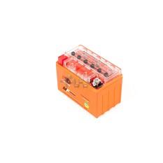 Аккумулятор (АКБ) 12V 9А гелевый (152x88x106, оранжевый, mod:YTX9-BS) OUTDO арт.A-1151