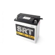 Аккумулятор (АКБ) 12V 9А заливной (6МТC-9C) SRT (VOV) арт.A-1325