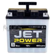 Аккумулятор (АКБ) 12V 9А заливной JET POWER (под болт) (VOV) арт.A-1323