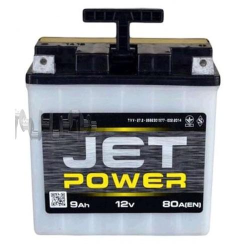 Акумулятор (АКБ) 12V 9А заливний JET POWER (під болт) (VOV) арт.A-1323
