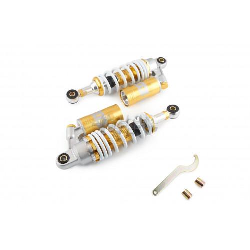 Амортизаторы (пара)   GY6, DIO ZX   260mm, газомасляные   EVO