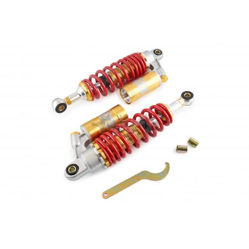 Амортизаторы (пара)   GY6, DIO ZX   290mm, газомасляные   EVO