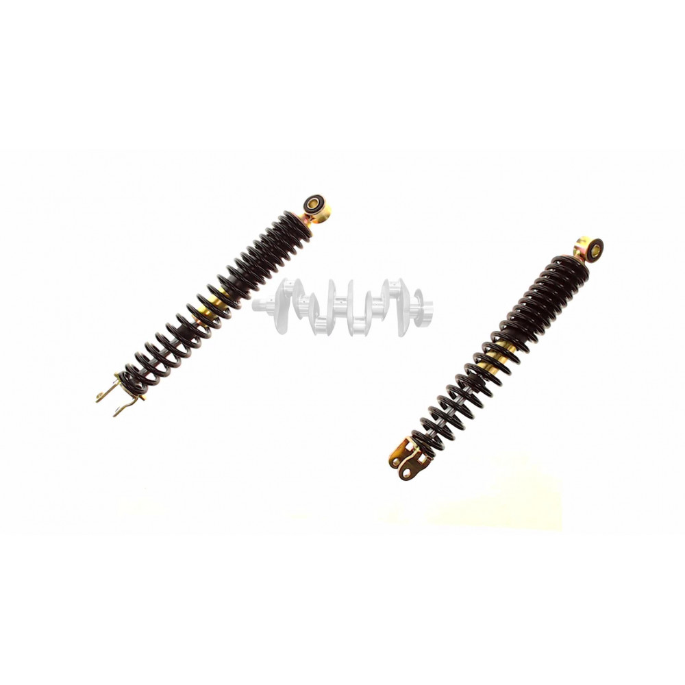 Амортизаторы (пара)   GY6, DIO ZX   310mm, стандартные   (черные)   RUIKAI