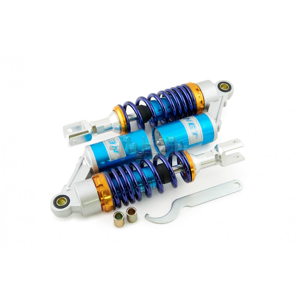 Амортизаторы (пара)   универсальные   280mm, газомасляные   (фиолетовые)   NET