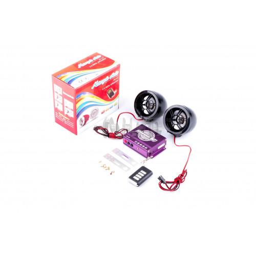Аудиосистема   (2.5, черные, сигн., МР3/FM/MicroSD/USB, ПДУ, разъем ППДУ 3.5mm)   ZUNA