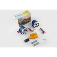 Аудиосистема   (3.5, синяя-хром, подсветка, сигн., МР3/FM/SD/USB, ПДУ, разъем ППДУ 3K)   BEST CHOICE
