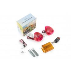 Аудиосистема   BEST CHOICE   (2.5, прозрач.-красная, подсветка, сигн., МР3/FM/SD/USB, ПДУ, разъем ПП