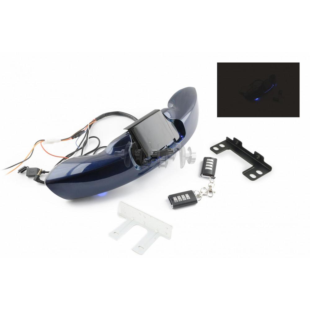 Аудиосистема   траверсная   (2, 2*5W синие,сигнализация, МР3/USB/SD, водонепрониц.)   mod:MT610   NE