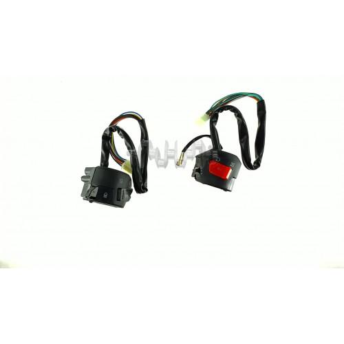 Блоки кнопок руля (пара)    CB/CG 150-200 (черные)   ZV