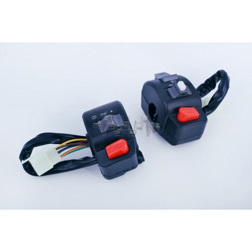 Блоки кнопок руля (пара)   4T GY6 50   (диск/диск)   EVO
