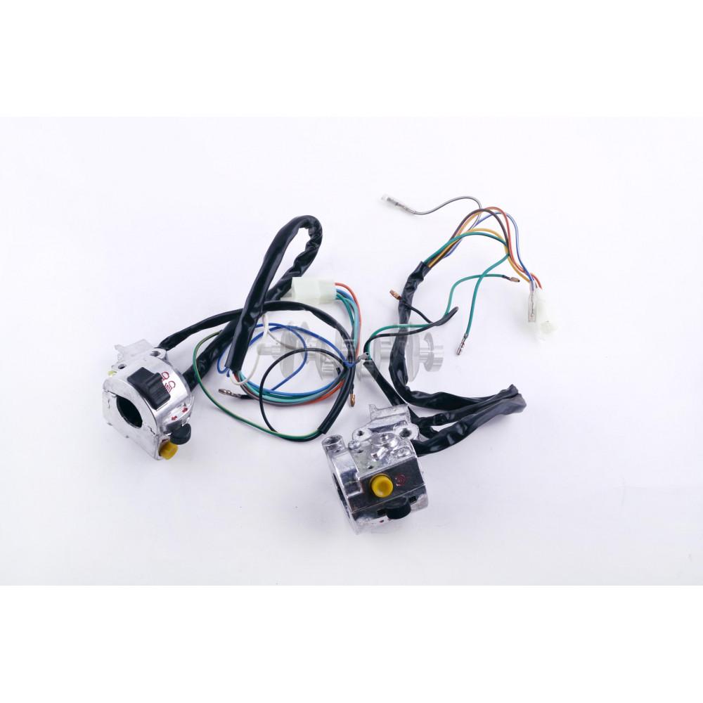 Блоки кнопок руля (пара)   Delta   (хром, крепления, провода, без рычагов)   EVO