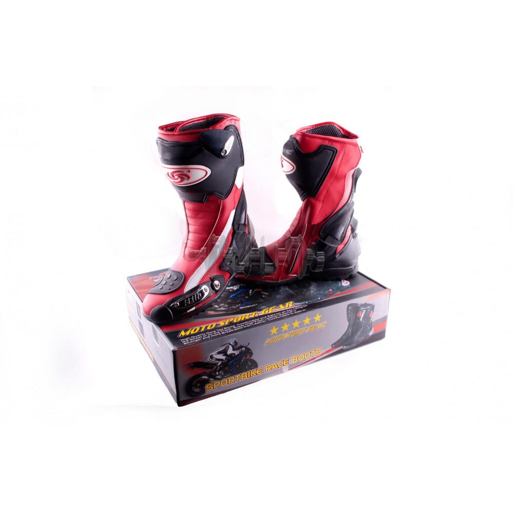 Ботинки   PROBIKER   (mod:1002, size:41, красные)