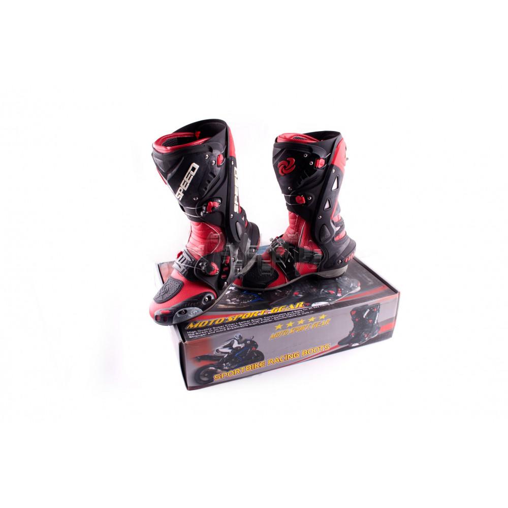 Ботинки   PROBIKER   (mod:1003, size:40, красные)