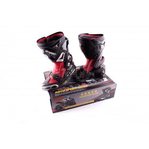 Ботинки   PROBIKER   (mod:1005, size:40, красные)