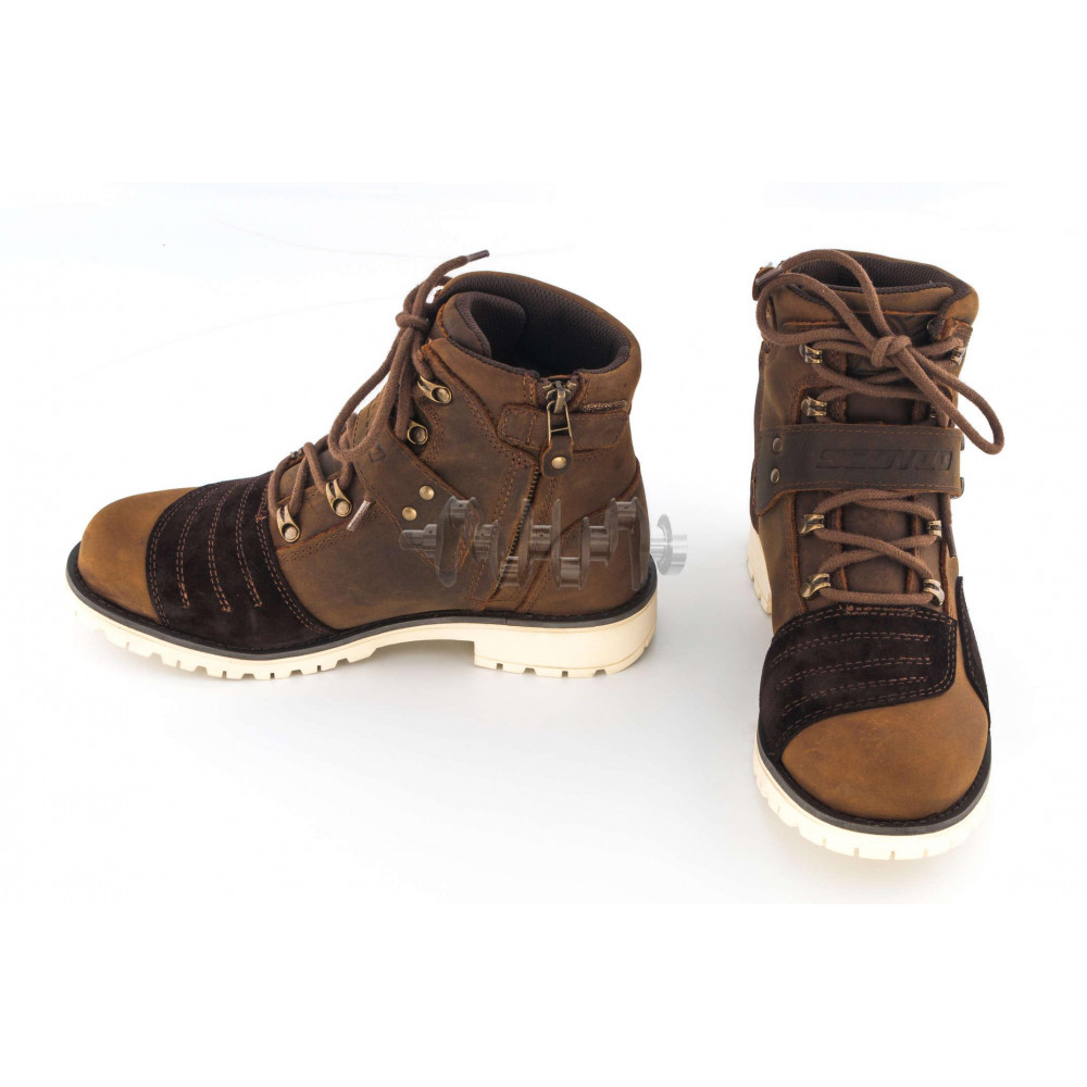 Ботинки   SCOYCO   (хаки с пряжкой, size:43)