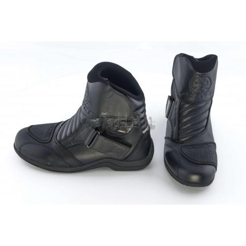 Ботинки   SCOYCO   (черные с липучкой, size:43)