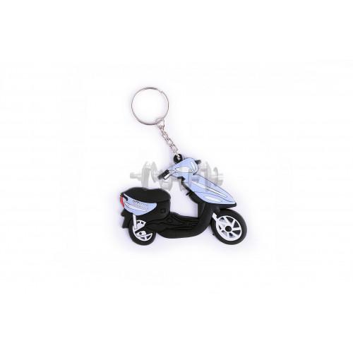 Брелок резиновый   скутер   (синий)   YMH   (#YSK005)