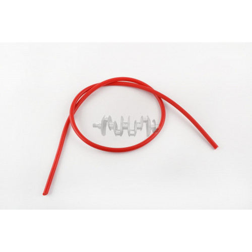 Бронепровод 5000mm   (красный, силикон)   DM