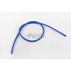 Бронепровод 5000mm   (синий, силикон)   DM