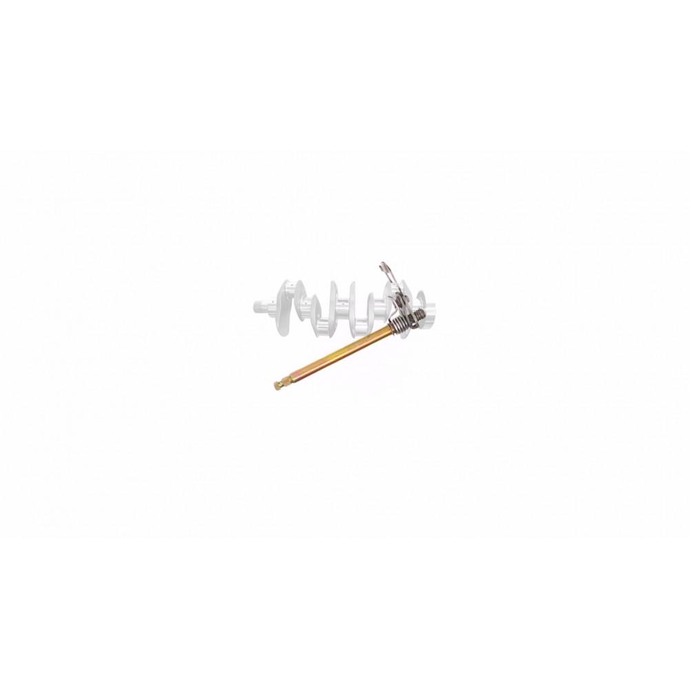 Вал переключения передач копирный   DELTA 125   (+вилочки)   KOMATCU   (mod.A)
