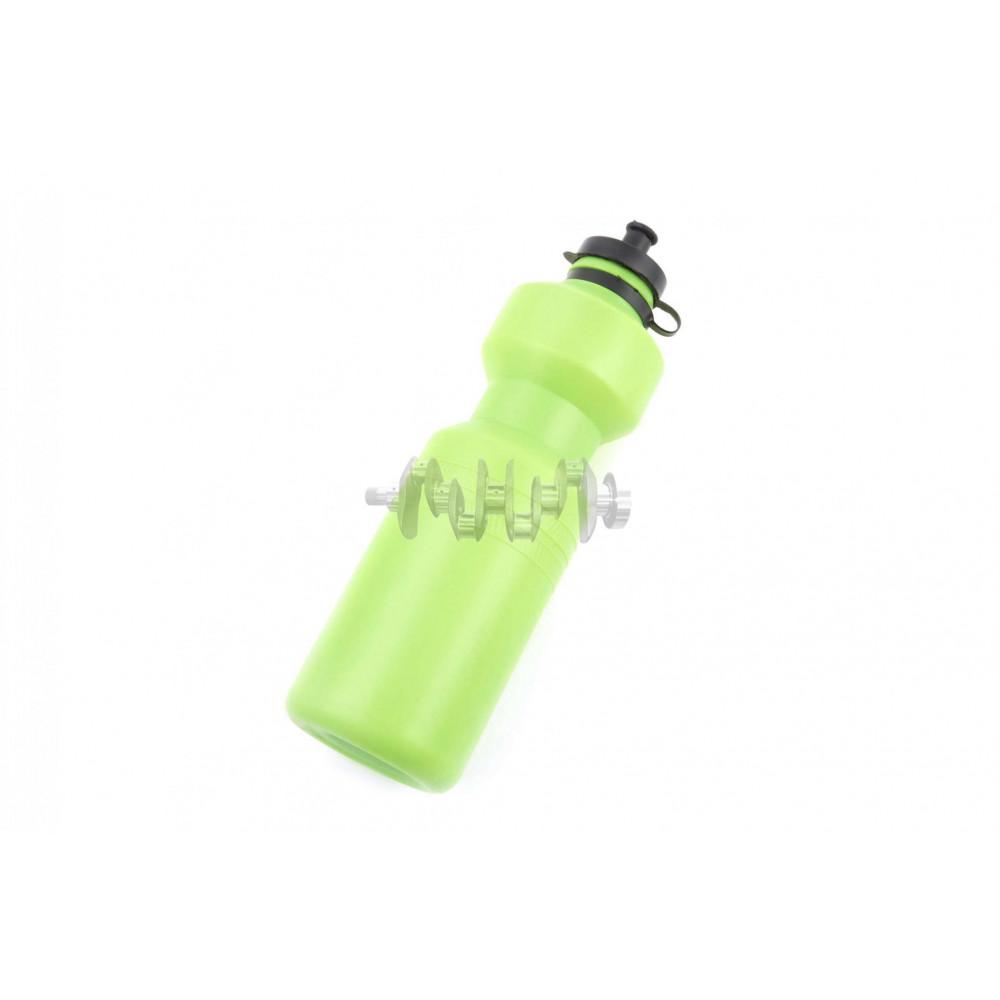 Велосипедная фляга (пластиковая, зеленая) (700ml)   YKX