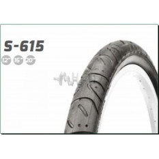Велосипедная шина   12 * 1/2 * 2 1/4   (62-203)   (S-615/S-173 усиленная)   Delitire-Индонезия   (#L