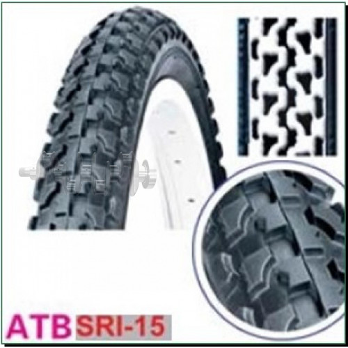 Велосипедная шина   16 * 2,125   (SRI-15)   DSI-Шри Ланка   (#LTK)