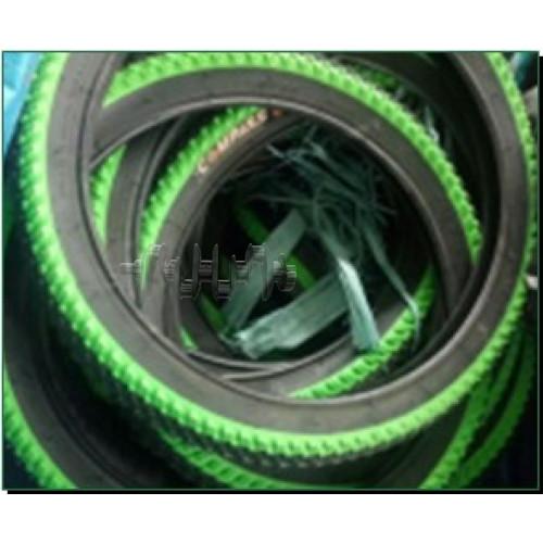 Велосипедная шина   18 * 1,95   (зерно сендвич черный/жёл/оранж/фиолет/зелён/розов)   Китай COMPAS