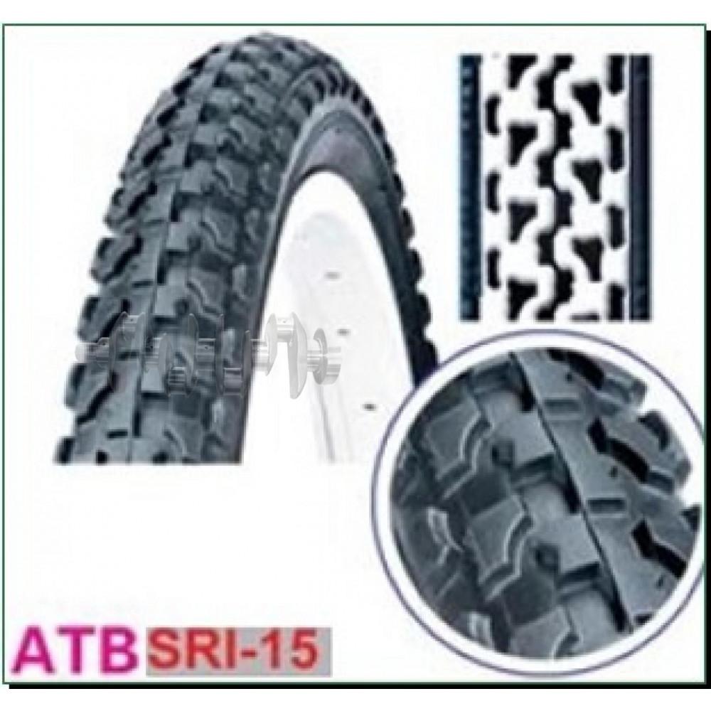 Велосипедная шина   20 * 2,125   (57-406)   (DSI SRI-15)   DSI-Шри Ланка   (#LTK)