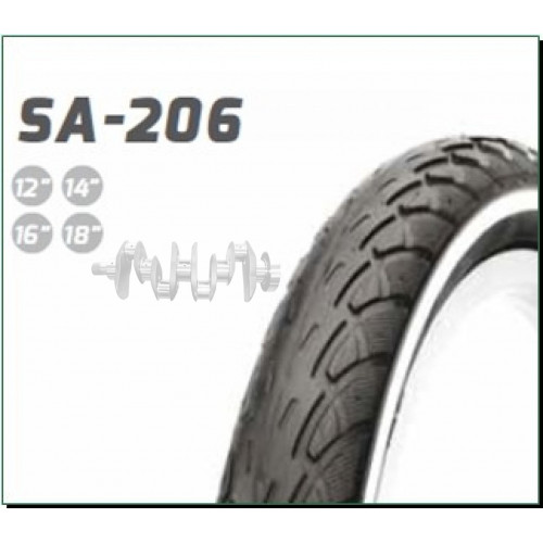 Велосипедная шина   22 * 1,75   (47-456)   (S-109 S-176 SA-206 SA-207)   Delitire-Индонезия   (#LTK)