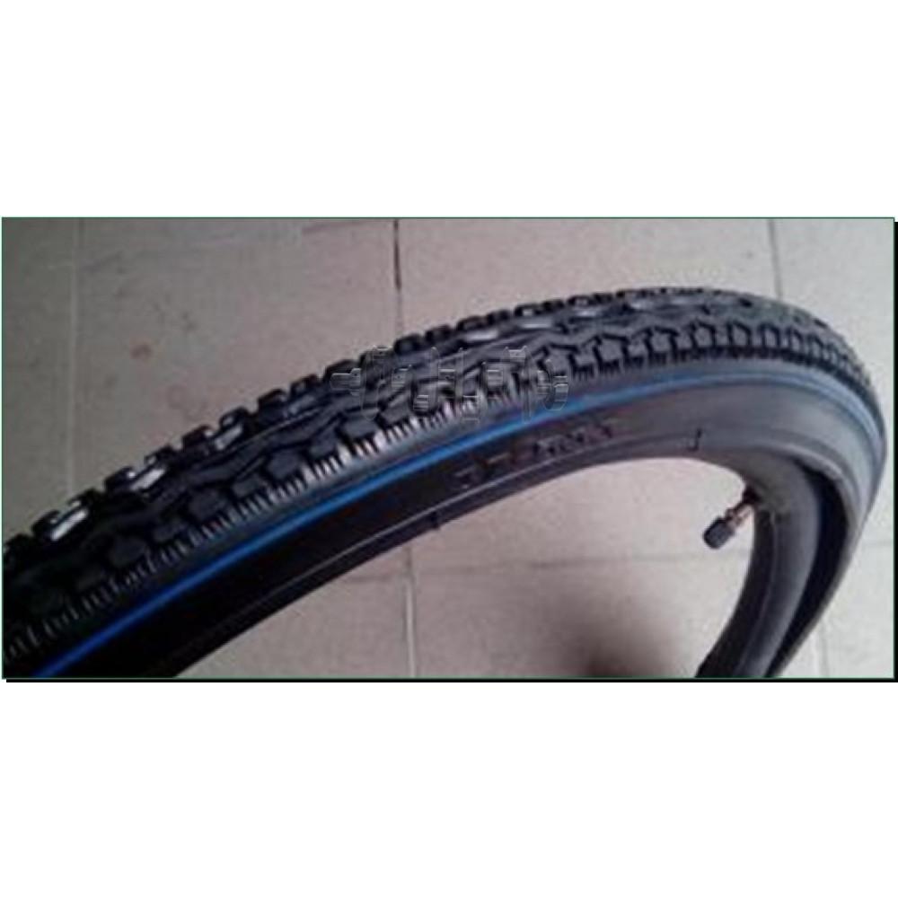 Велосипедная шина   24   (37 * 533)   (лысая)   KAMA-Индия   (#LTK)
