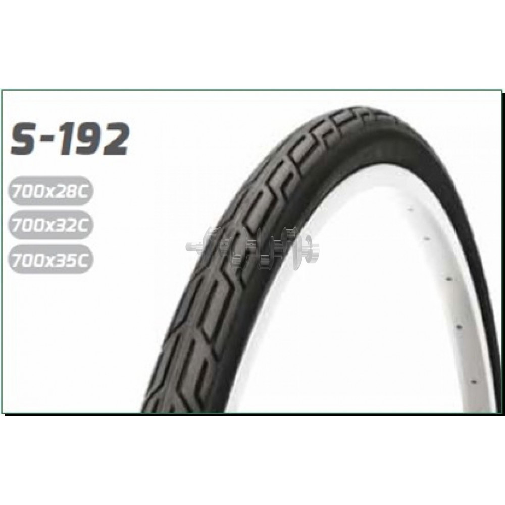 Велосипедная шина   24 * 1   (520-23)   (H-470,серая узкая)   LTK