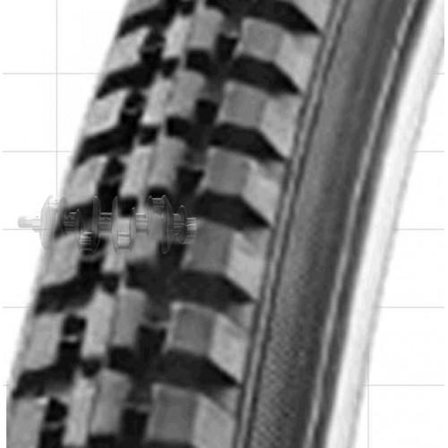 Велосипедная шина   24 * 1 3/8   (37-501)   (HS-110)   Swallow-Индонезия   (#LTK)
