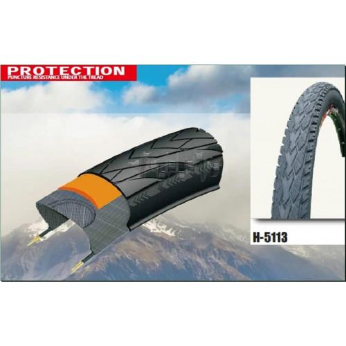 Велосипедная шина   24 * 1,95   (Н-5113 АНТИПРОКОЛ 5 Level 5mm Rhino skins стрела)   Chao Yang-Top B