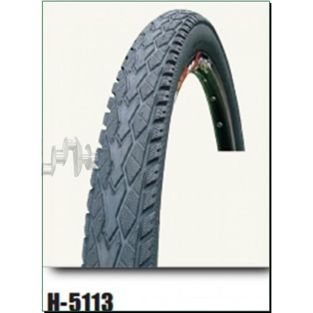Велосипедная шина   26 * 1 3/8   (37-590)   (H-5113)   Chao Yang/DSI   (#LTK)