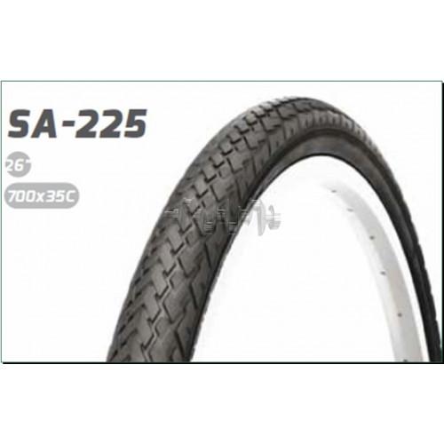 Велосипедная шина   26 * 1,75   (SA-225 Red strip)   Delitire-Индонезия   (#LTK)