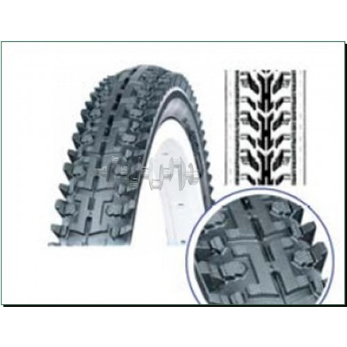 Велосипедная шина   26 * 1,75   (SRI-43 Blue strip)   DSI-Шри Ланка   (#LTK)