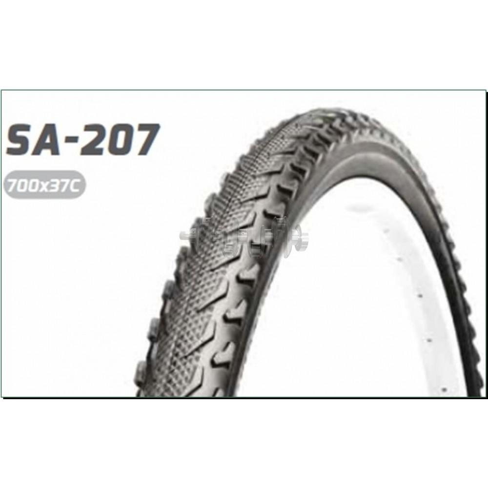 Велосипедная шина   26 * 1,95   (S-207 Blue strip)   Delitire-Индонезия   (#LTK)