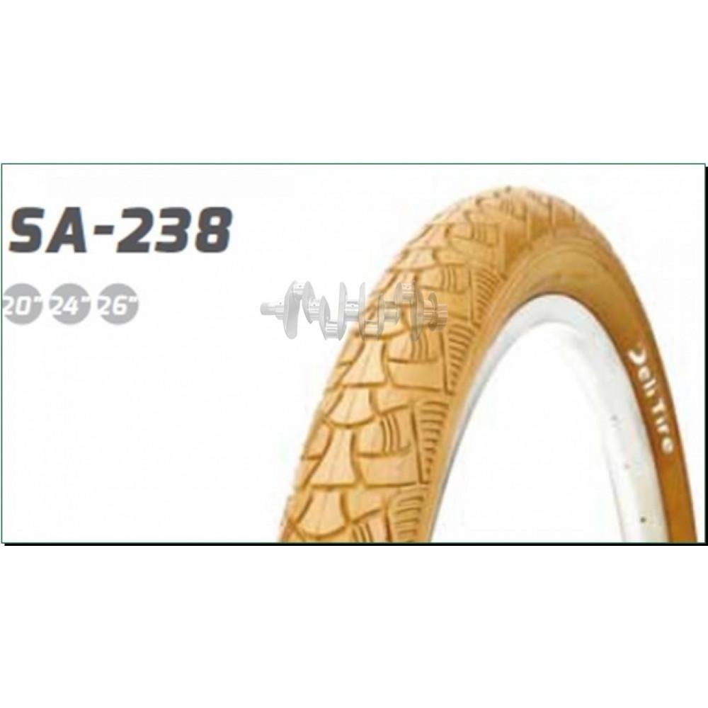 Велосипедная шина   26 * 2,125   (S-238 Red strip)   Delitire-Индонезия   (#LTK)