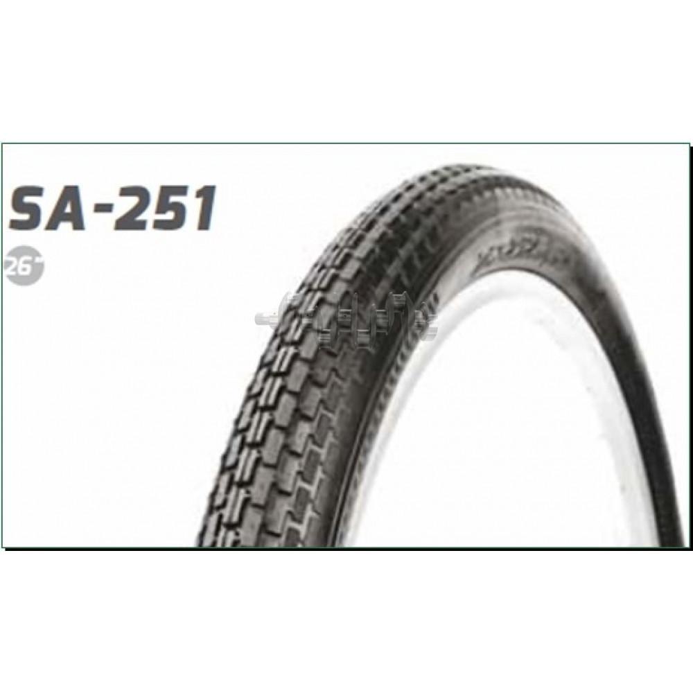 Велосипедная шина   26 * 2,125   (S-251 Blue strip)   Delitire-Индонезия   (#LTK)